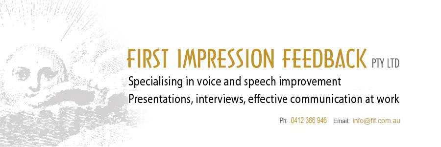 FIRST IMPRESSION FEEDBACK :: Personal Commuication :: Customer Service Coaching :: Effective Feedback Systems